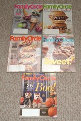 Family Circle Magazine Lot of 5 2016 June - Oct in Plainfield, Illinois