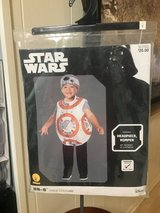 New!  BB-8 Star Wars Toddler Costume - Sz 2-3 (2 available) in Westmont, Illinois
