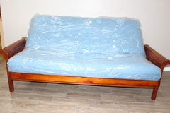 Futon in EXCELLENT condition! mattress included in Tomball, Texas