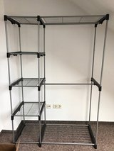 Clothing rack with shelves in Ramstein, Germany