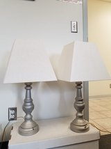 Gray lamps with lampshades in Fort Campbell, Kentucky