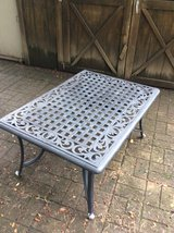 Great Escape Aluminum Patio Table, Black in Naperville, Illinois