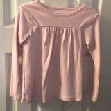 Girl's 4T Pink Long Sleeve Shirt in Spring, Texas