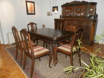 Beautiful, solid dining room furniture from the Gründerzeit (19th-century) in Baumholder, GE