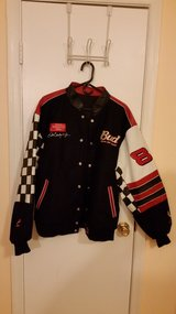 Dale Jr. Leather/Cloth Bud Jacket - XL in Quantico, Virginia