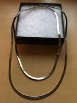 """Silver chain necklaces- 19"""" & 15"""" in Shorewood, Illinois"""