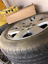 Four BMW 328i Tires and Rims in Travis AFB, California