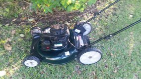 Bolens 21 inch push mower w/ big rear wheels in Kingwood, Texas