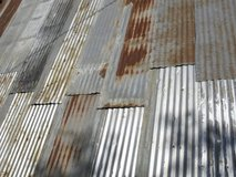 *WANTED* old/unused corrugated metal sheeting in 29 Palms, California