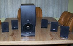 Sony surround sound speakers w/subwoofer for a DVD player in Barstow, California