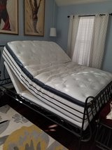 Serta Queen Adjustable Bed in Lackland AFB, Texas