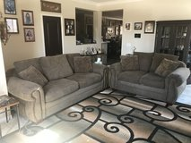 8' Couch & 6' Loveseat. in Temecula, California