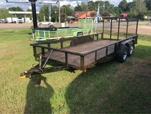 16ft Tandem Axle Pipe Top Utility in DeRidder, Louisiana