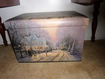 Foot Stool storage containers by Thomas Kinkade in Warner Robins, Georgia