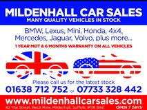 *MOT'S 01638 711 888* in Lakenheath, UK