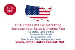 USA Email Lists-Consumers and Businesses in Ansbach, Germany