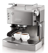 DeLonghi EC702 15-Bar-Pump Espresso Maker, Stainless in Lancaster, Pennsylvania