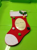 Christmas stocking photo frame in Wiesbaden, GE