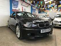 Black BMW 325Ci M Sport - 2005 in Lakenheath, UK
