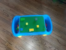 Lego Duplo preschool play table and building block lapdesk in Morris, Illinois