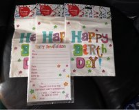 birthday invites and loot bags in Lakenheath, UK
