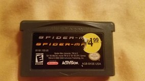 Game Boy Advanced Game - Spiderman in Kingwood, Texas