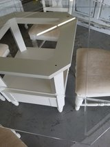 Broyhill Glass Top Table & 4 Chairs in Camp Lejeune, North Carolina