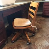Pottery Barn desk chair in Lockport, Illinois