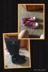 pink converse (black boots sold) in Fort Polk, Louisiana