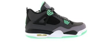 Air Jordan Retro 4 Green Glow in West Orange, New Jersey