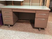 Vintage metal desk in Brookfield, Wisconsin
