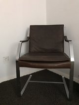 Set of 2 leather rocking chairs in Ramstein, Germany