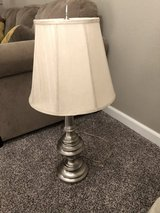 Satin Nickel Table Lamp and shade in Travis AFB, California