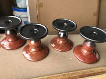 """4"""" Metal Candle Holders in New Lenox, Illinois"""