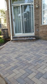patios,steps, retaining wall, fire pit in St. Charles, Illinois
