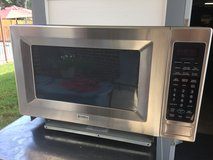 Kemore Elite stainless microwave in Kingwood, Texas