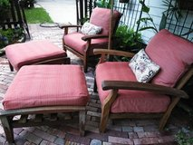 Teak Patio Furniture Set in Conroe, Texas