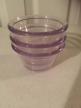 3 - 2.6 oz Acrylic Prep Bowls in Eglin AFB, Florida