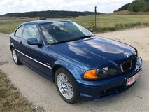 BMW 318 ci coupe 2003 only 104000 mls 1. hand new inspection free delivery in Hohenfels, Germany
