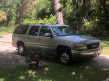 2000 GMC Yukon XL 4 wheel drive, 7 pax, all leather in Beaufort, South Carolina