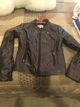 Girls Faux leather jacket in Plainfield, Illinois
