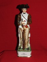 Vintage Grenadier 18th Continental Soldier Porcelain Decanter / Box in Lockport, Illinois