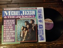 Micheal Jackson & The Jackson 5 vinyl in Leesville, Louisiana