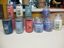 13 BRAND NEW YANKEE CANDLES--( LOT )--------- OF 12---14.5 and--22 oz. in Cherry Point, North Carolina