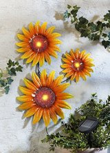 New Set of 3 Hanging Metal Plaque Wall Sunflowers in Ramstein, Germany