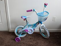 12 inch Elsa bike with basket in Morris, Illinois