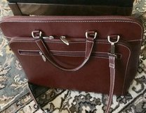 Deep Red Briefcase in Ramstein, Germany