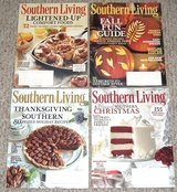 Southern Living Magazine Lot of 4 Halloween Thanksgiving Christmas 155 Recipes 2013 Jan Nov Dec in Joliet, Illinois