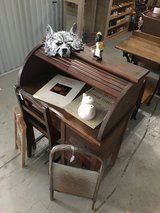 Child's Secretary Wooden Desk and Chair in Camp Lejeune, North Carolina