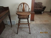 Antique High Chair in Brookfield, Wisconsin
